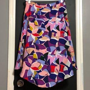 Anthro Maeve Viscose Skirt